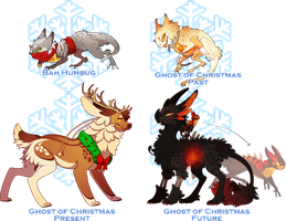 A Christmas Carol Collab Auction (CLOSED) by LilKyubee