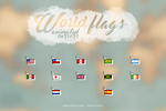 Wavin' Flags  { animted cursors } by FranceEditions