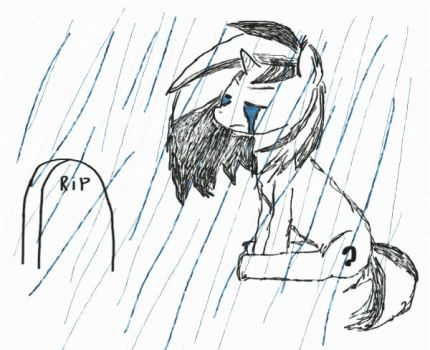 Rain - animated- by Brents0