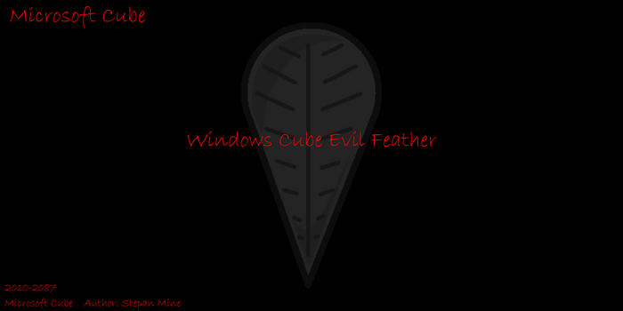 Windows Cube Evil Feather by Stepan-Mine