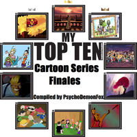 Top Ten Series Finales by PsychoDemonFox
