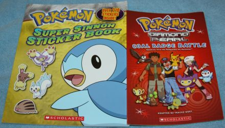 Pokemon Book and Sticker Book - 4 Sale by Lovely-DreamCatcher