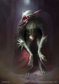 Theemian Vampire - creature concept by Cloister