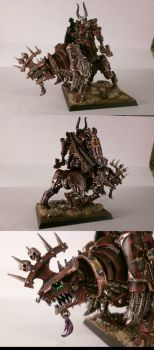 Chaos Lord on Juggernout by s813noma1
