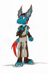 Concept - Teo by hunterbahamut