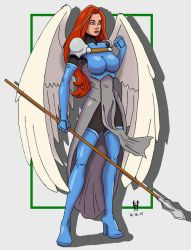 War Angel Colors by TheGreenCount