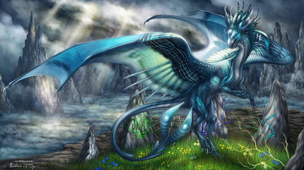 The Stormcaller by Araless