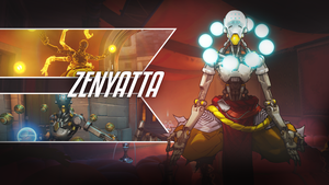 Zenyatta-Wallpaper-2560x1440 by PT-Desu