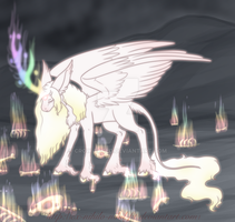 Auracorn Lore, The First Auracorns by Ex-nihilo-nihil-fit