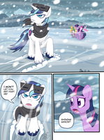 Alternate story reference: Crystal Empire - Pg 1 by bossboi