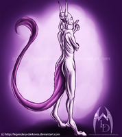 Speedpaint: Mewtwo by Legendary-Darkness
