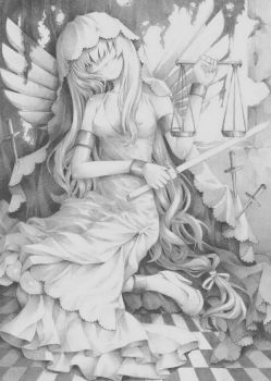 Lady of Justice by BombayPiko