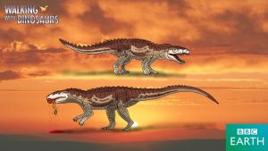 Walking with Dinosaurs: Postosuchus by TrefRex