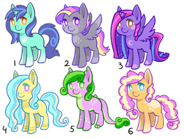 Shipping pony adopts OPEN by CatbunAdopts
