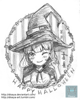 Cute Witch by Disaya