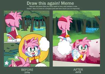 draw this again meme by Miiukka