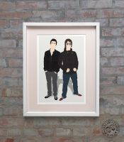 Gallagher Brothers Minimalist Posteritty by Posteritty