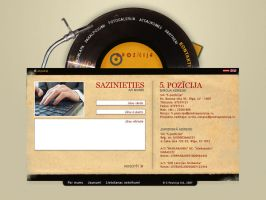 web design-entertainment by d-arty
