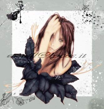 My flower by Aziell