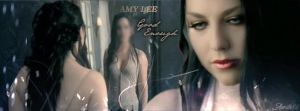Header Amy Lee - Good enough by Aerith88