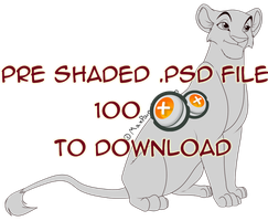Downloadable Lioness by MaxPaineVolumn