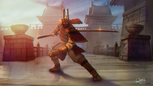 Samurai_Japanese_Warrior by Ork-artist