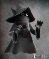 Orko (anaglyph) by AEmiliusLives