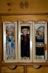 Traditional costume Dolls by steppeland