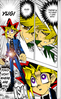 Yugi and Joey from Manga by Gabriel-loki