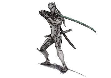 Overwatch - Genji by KaeltheArchon