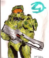Halo 4: The Chief is Back by B-BOOGY
