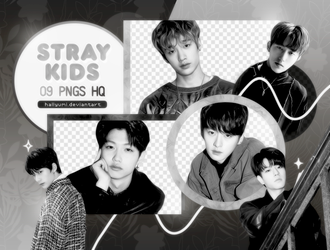 PNG PACK: Stray Kids #4 (Mixtape) by Hallyumi