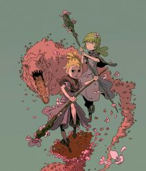 Flower Mages by Varguy