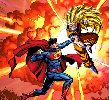 Supes Vs Goku2 by ComicMultiverse