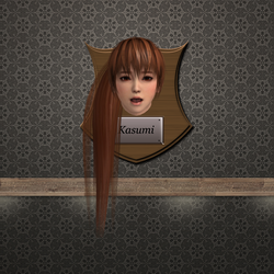 Trophy Plaque  - Kasumi by DeliciousVGBabes