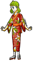 [SIA] Kate but shes in a yukata  by Dorydraws