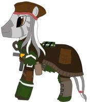 Fallout Equestria: Black Seas' Main Character by Maverickhunter2
