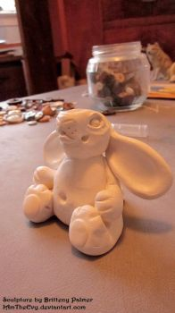Moubbit Sculpture_WIP by IAmTheEvy