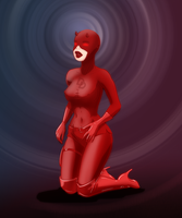 Daredevil Rule 63 by SatinMinions