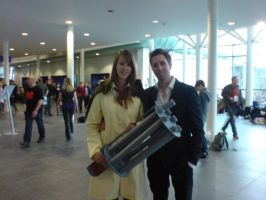 Milly Thompson and Nicholas D. Wolfwood by Twistanturnu