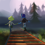 .: Lapidot - Life is Strange AU :. by UndeadSolaris
