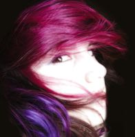 Pink and Purple Hair 2 by littlehippy