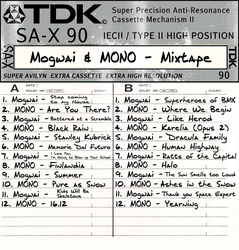 Mogawi and MONO - MIxtape by FrogStar-23