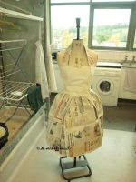 Paper petticoat 50s dress by Sukai3