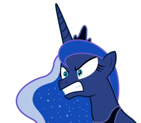 Princess Luna is pissed. by Dharthez