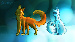 Redraw of a really REALLY old picture by FlameFox15