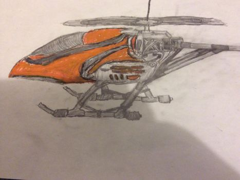 Helicopter WiP by thelastofthemall