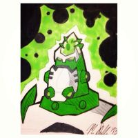 Atomix Sketchcard by Supersketch1220