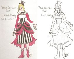 Annie Oakley - Design by fluffnight