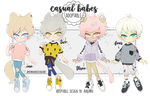 adopt: casual babes august batch [OPEN] by amepan
